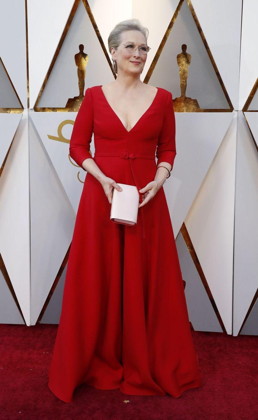 Meryl Streep àHollywood, le 4 mars 2018