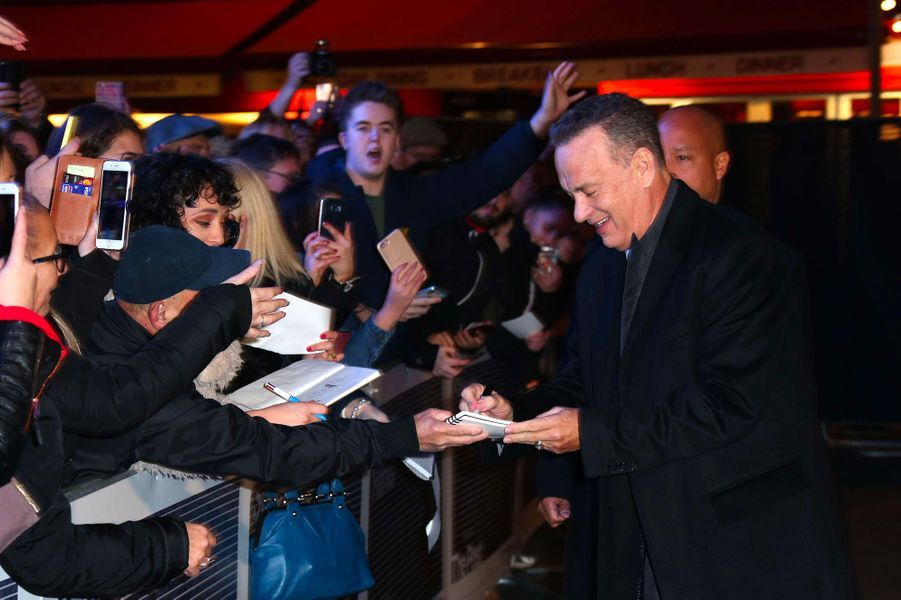 Tom Hanks à la première de «The Post» à Londres