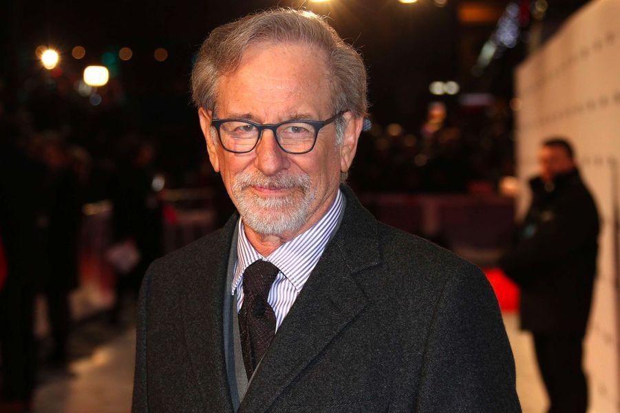 Steven Spielberg à la première de «The Post» à Londres