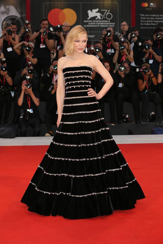 """Cate Blanchettà la 76e édition du festival international du film de Venise, à la première du """"Joker"""""""