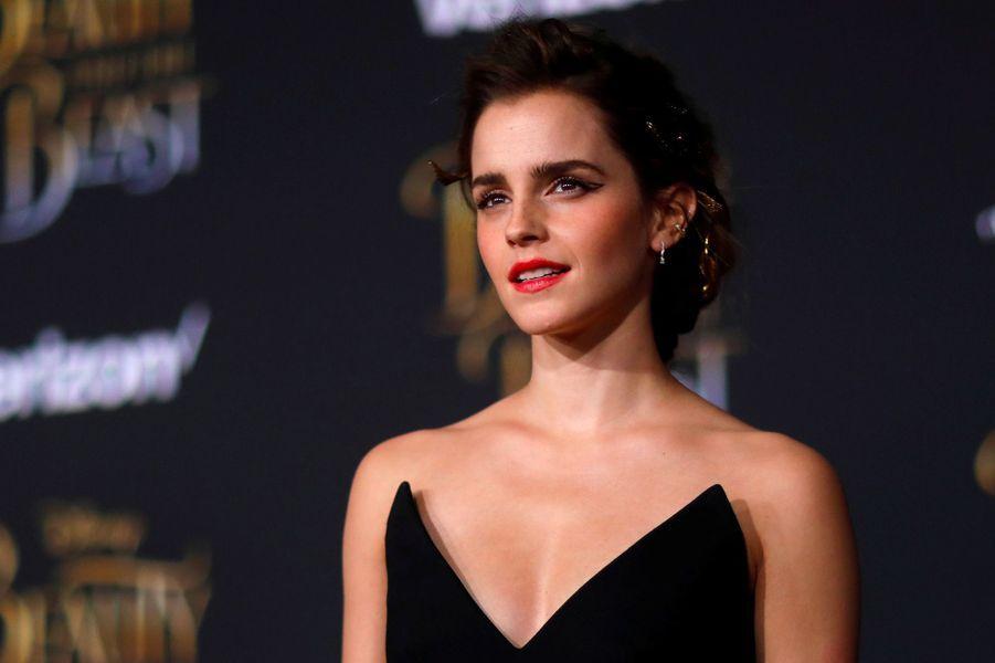 """Emma Watson :L'actrice est ambassadrice de bonne volonté pour l'ONU Femmes. """"Je pense qu'il est juste que je sois payée autant que les femmes"""", a-t-elle ainsi déclaré pendant un discours en 2014."""