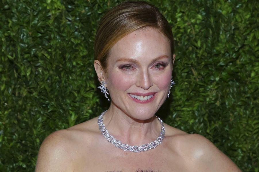 """Julianne Moore :""""Malheureusement, [l'inégalité des salaires entre hommes et femmes] n'est pas propre au show business, mais c'est quelque chose que connaissent toutes les femmes"""", a déclaré l'actrice."""