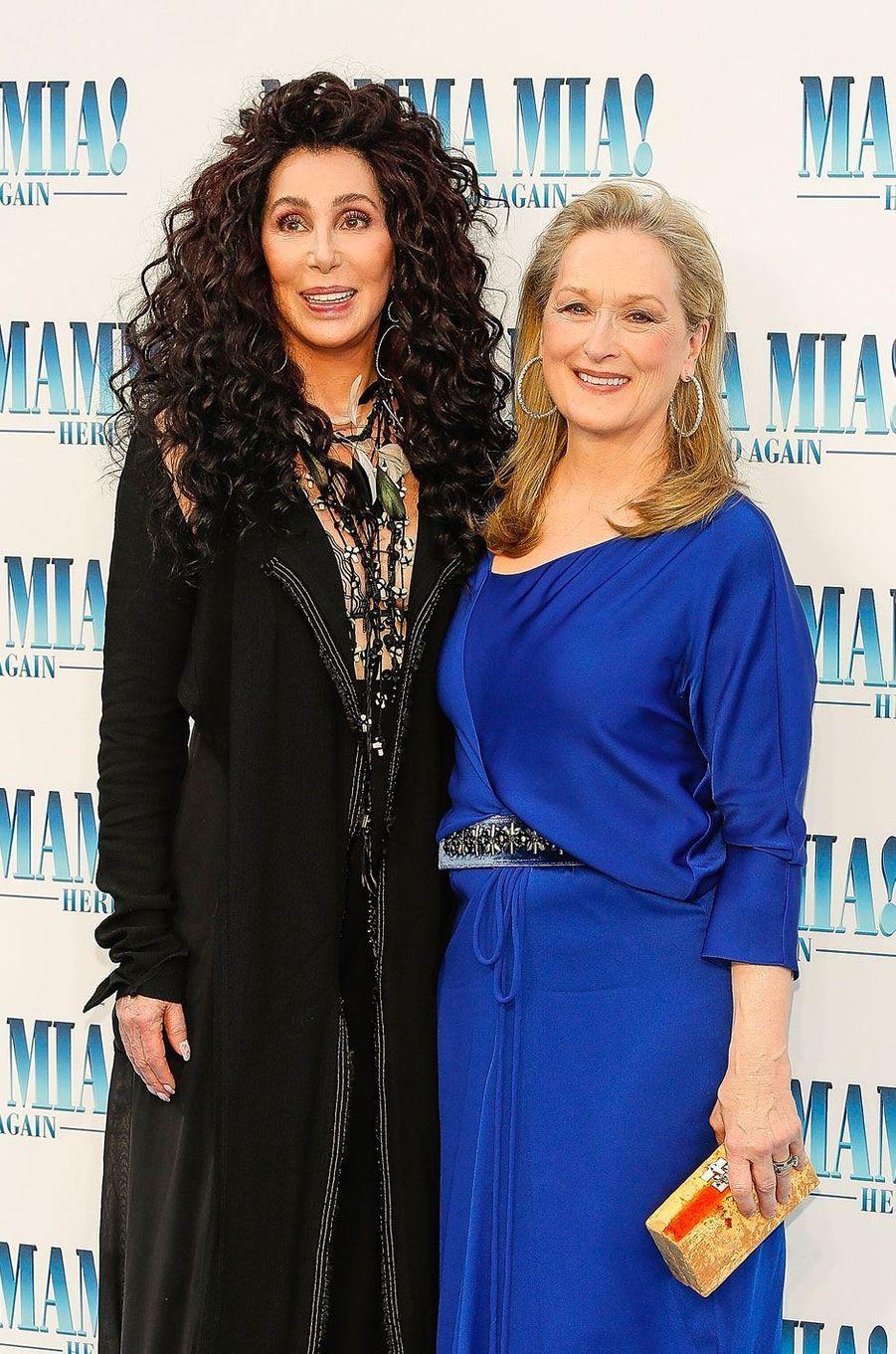 Cher et Meryl Streep
