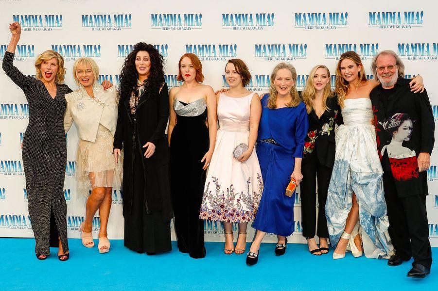 """L'équipe de """"Mamma Mia 2"""""""
