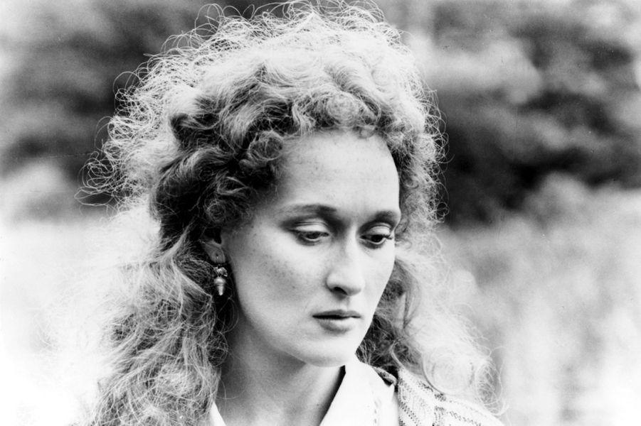 Meryl Streep en 1981.