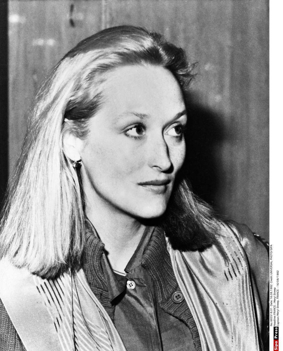 Meryl Streep dans les années 80.