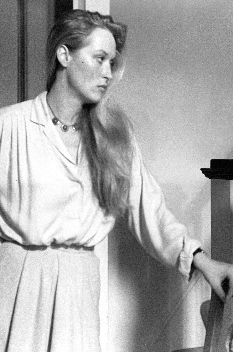 Meryl Streep en 1977.