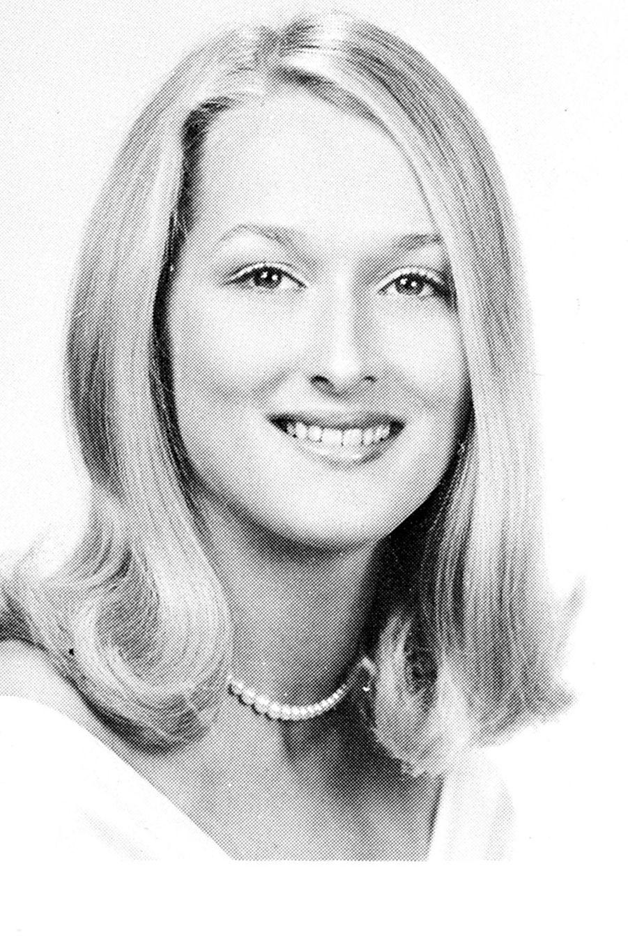 Meryl Streep en 1967.