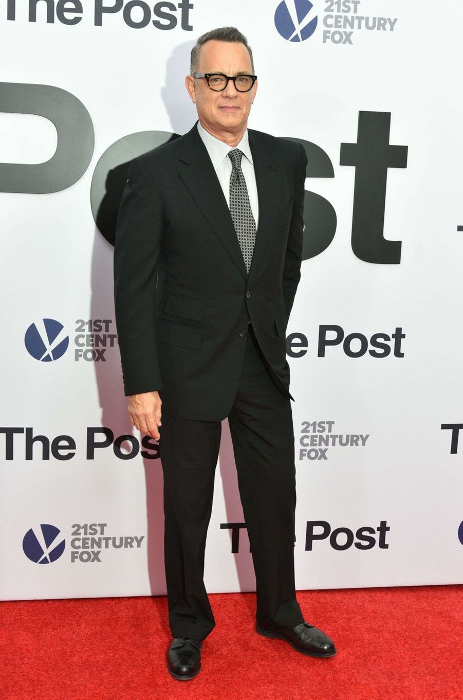 "Tom Hanks à l'avant-première de ""The Post"", le 14 décembre 2017 à Washington."