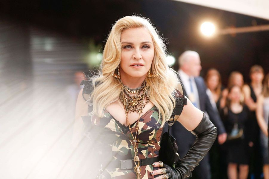 Madonna au Met Gala 2017.