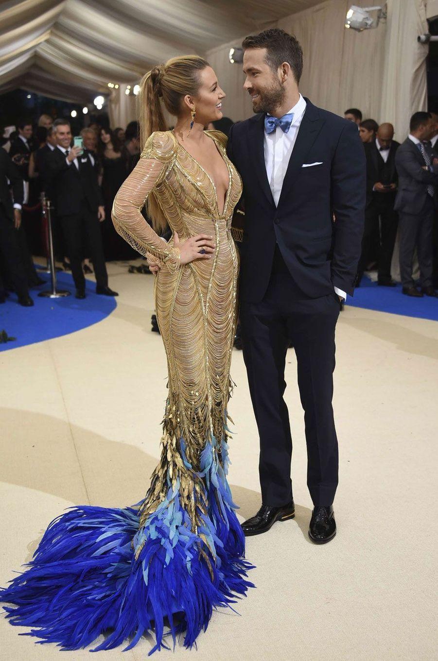 Blake Lively et son mari Ryan Reynolds.