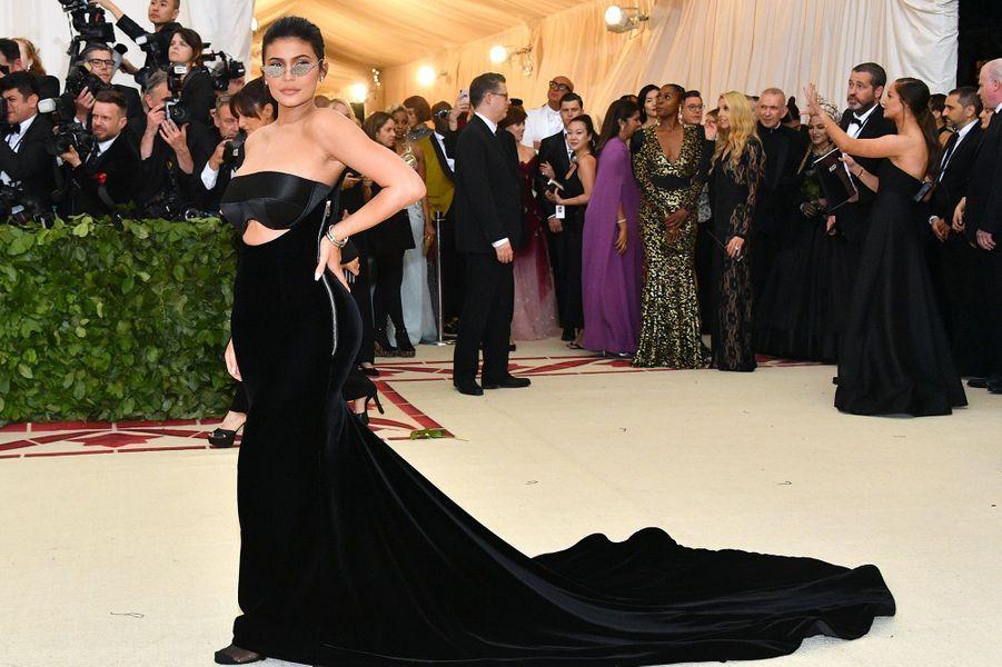 Kylie Jenner au Met Gala à New York, le 7 mai 2018.