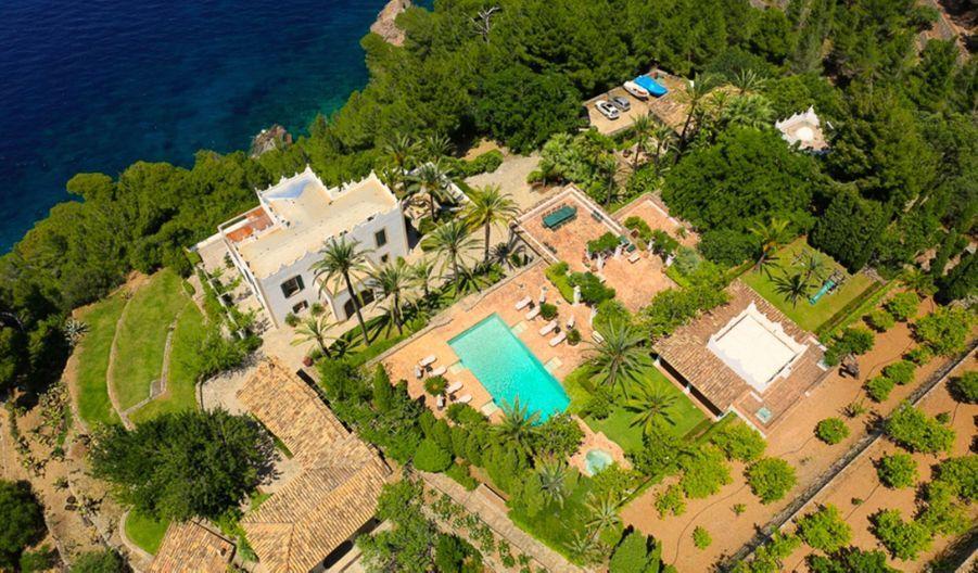 La villa S'Estaca de Michael Douglas à Majorque