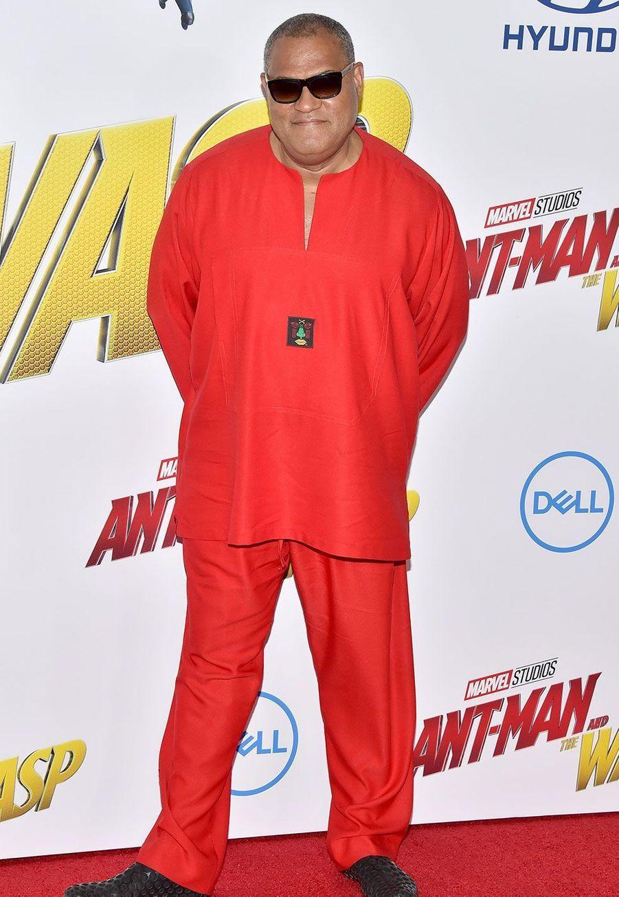 Laurence Fishburne à l'avant-première de«Ant-Man et la Guêpe» lundi