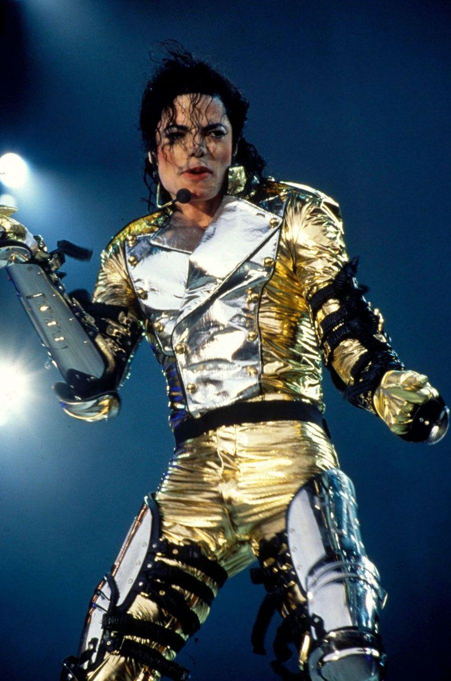 Michael Jackson en 2008.
