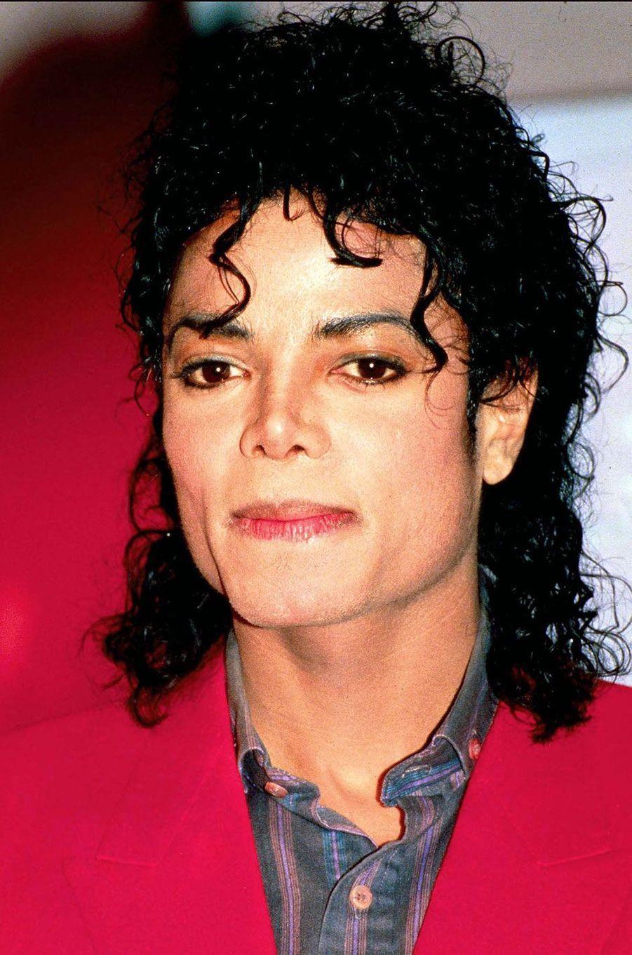 Michael Jackson en 2003.