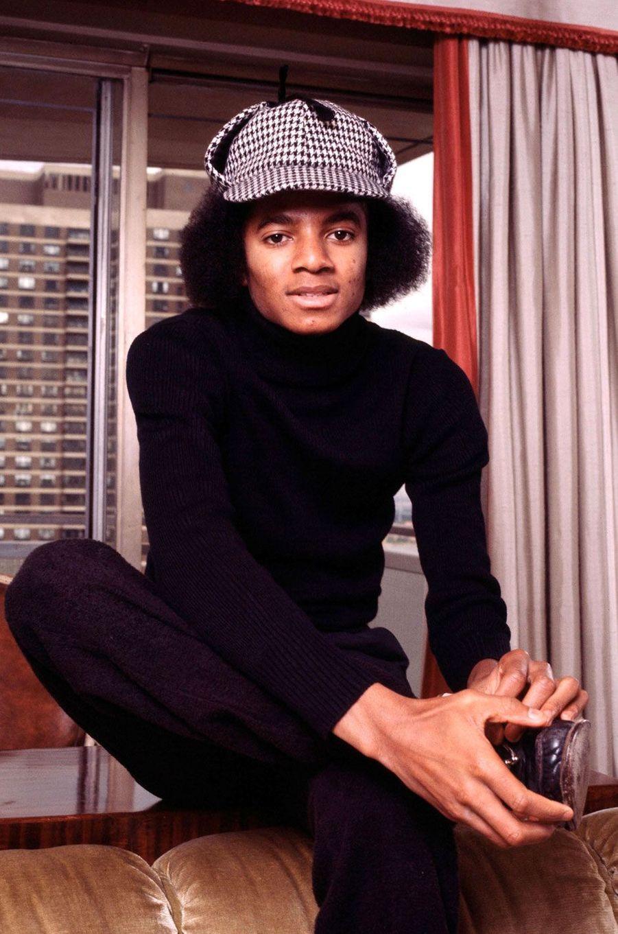 M.J en 1977 à New York.