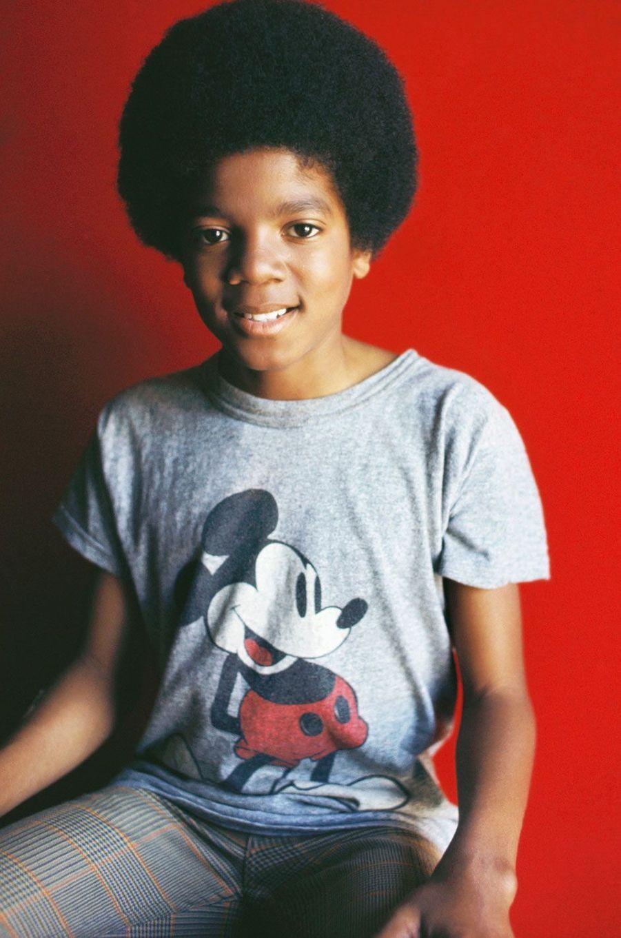 Michael Jackson en 1971.