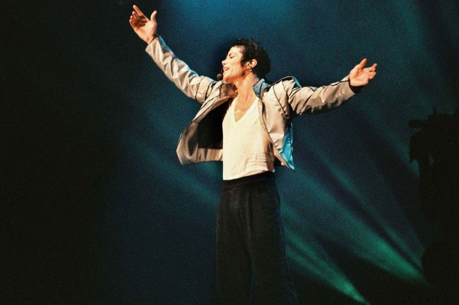 Michael Jackson en 1992.