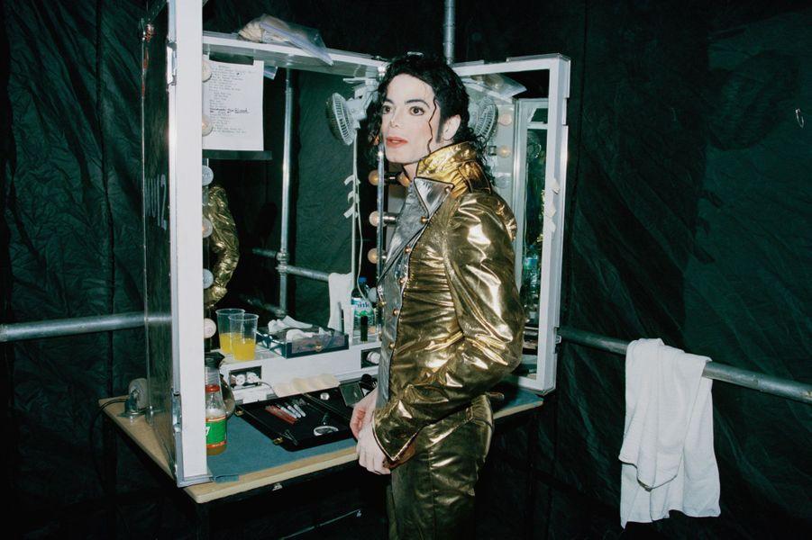 Michael Jackson en 1997.