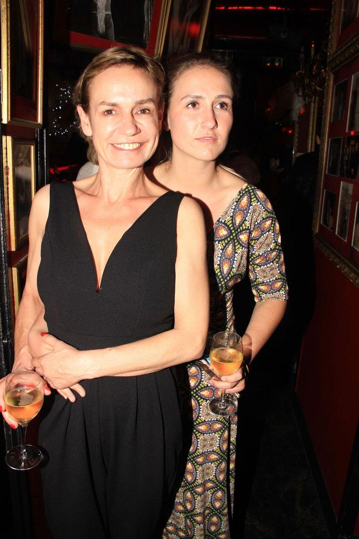 Sandrine Bonnaire et sa fille Jeanne à Paris, le 18 juin 2019