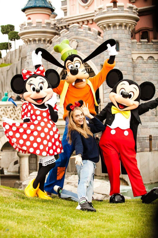 Cara Delevingne et Mickey.