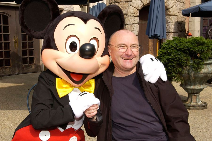Phil Collins et Mickey.