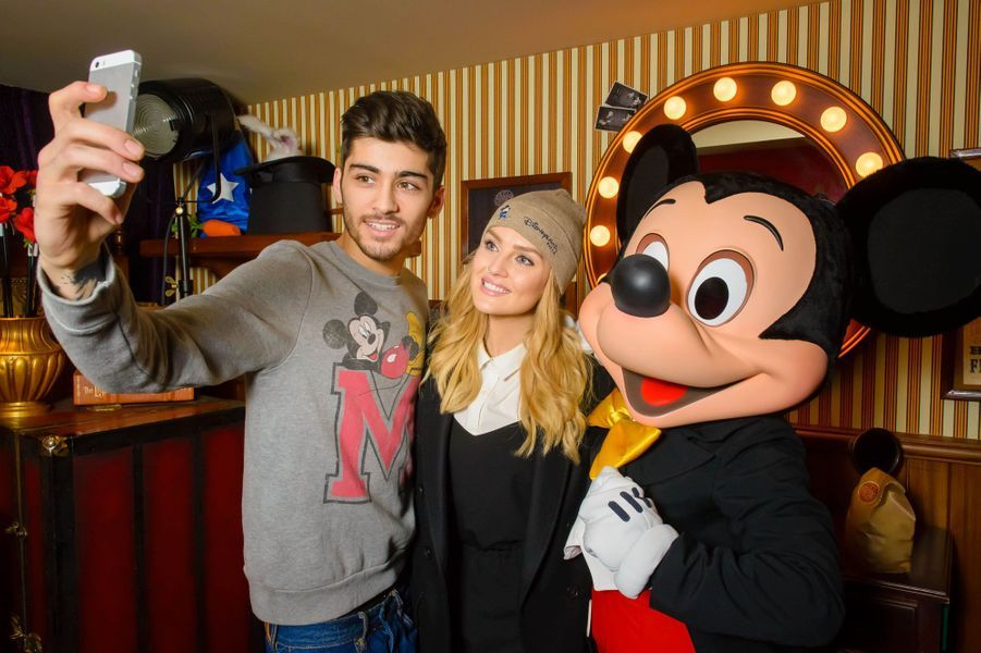 Zayn Malik, Perry Edwards et Mickey.