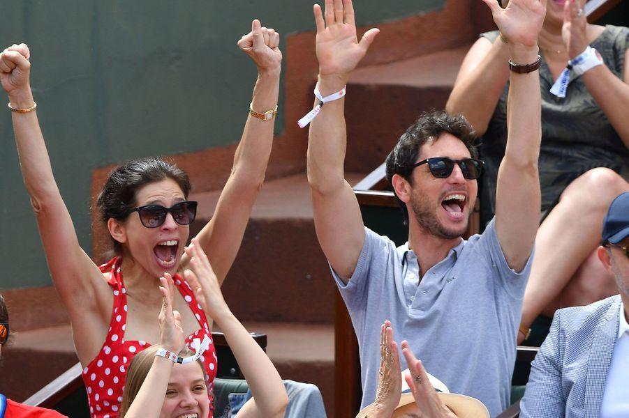 Maïwenn à Roland-Garros, samedi 2 juin