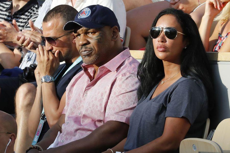 Mike Tyson à Roland-Garros, samedi 2 juin