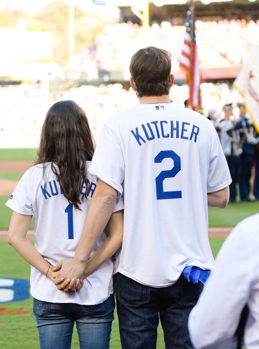 Mila Kunis et Ashton Kutcher en 2016.