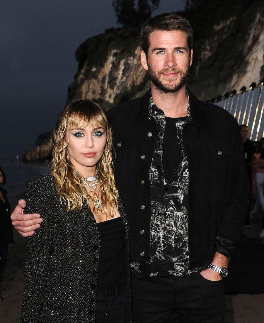 Miley Cyrus etLiam Hemsworthà Malibu, le 6 juin 2019