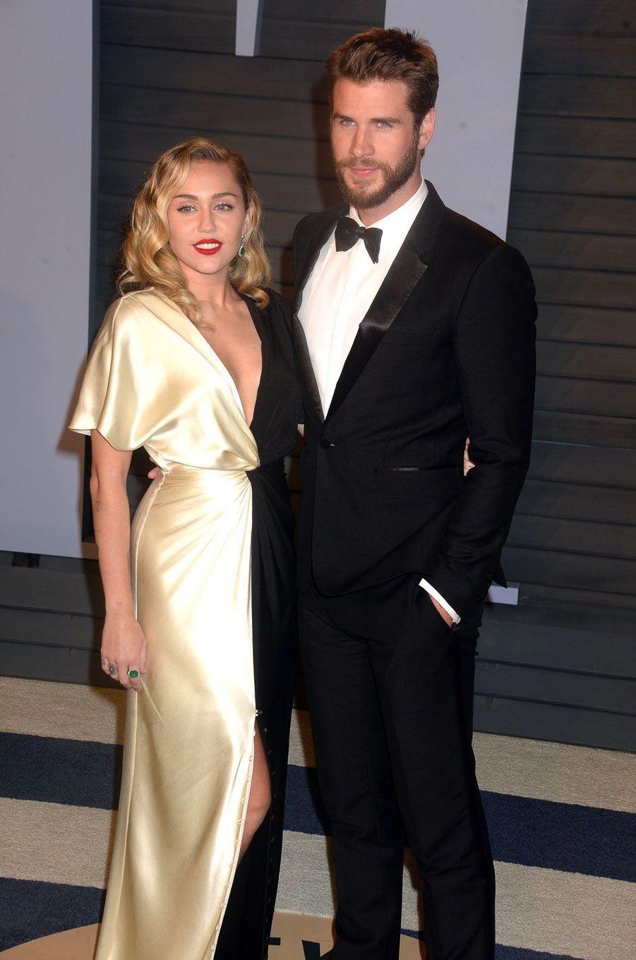 Miley Cyrus et Liam Hemsworth en 2018