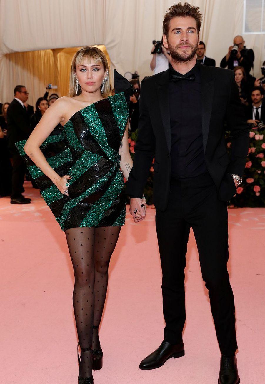 Miley Cyrus et Liam Hemsworth en mai 2019
