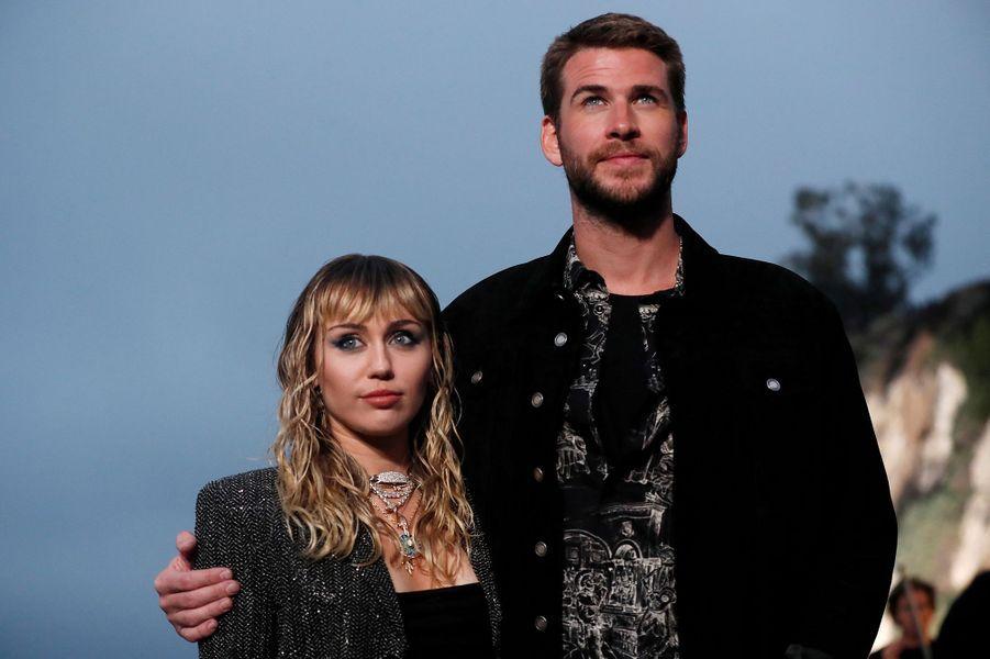 Miley Cyrus et Liam Hemsworth en juin 2019