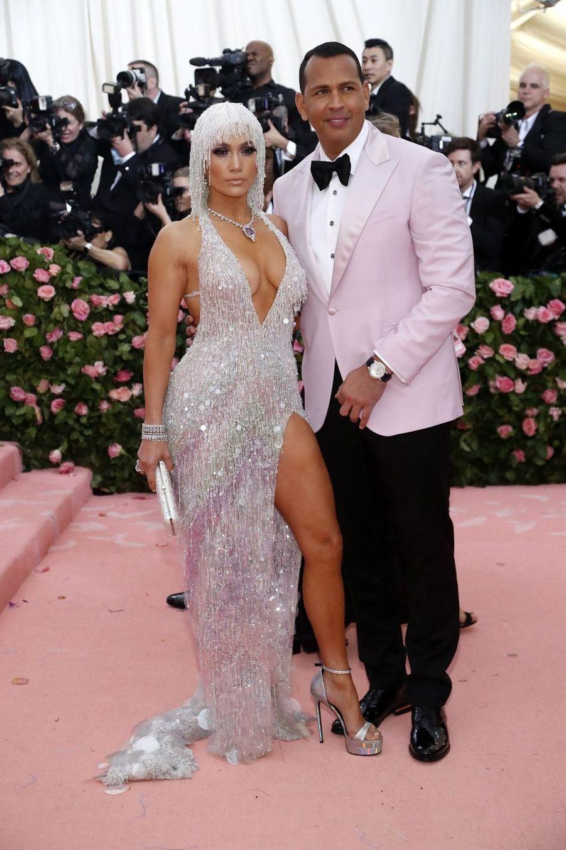 Jennifer Lopez et Alex Rodriguezau MET Gala à New York le 6 mai 2019