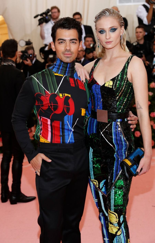 Joe Jonas et Sophie Turnerau MET Gala à New York le 6 mai 2019