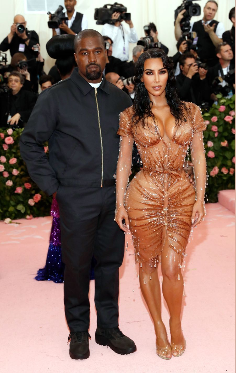 Kanye West et Kim Kardashianau MET Gala à New York le 6 mai 2019