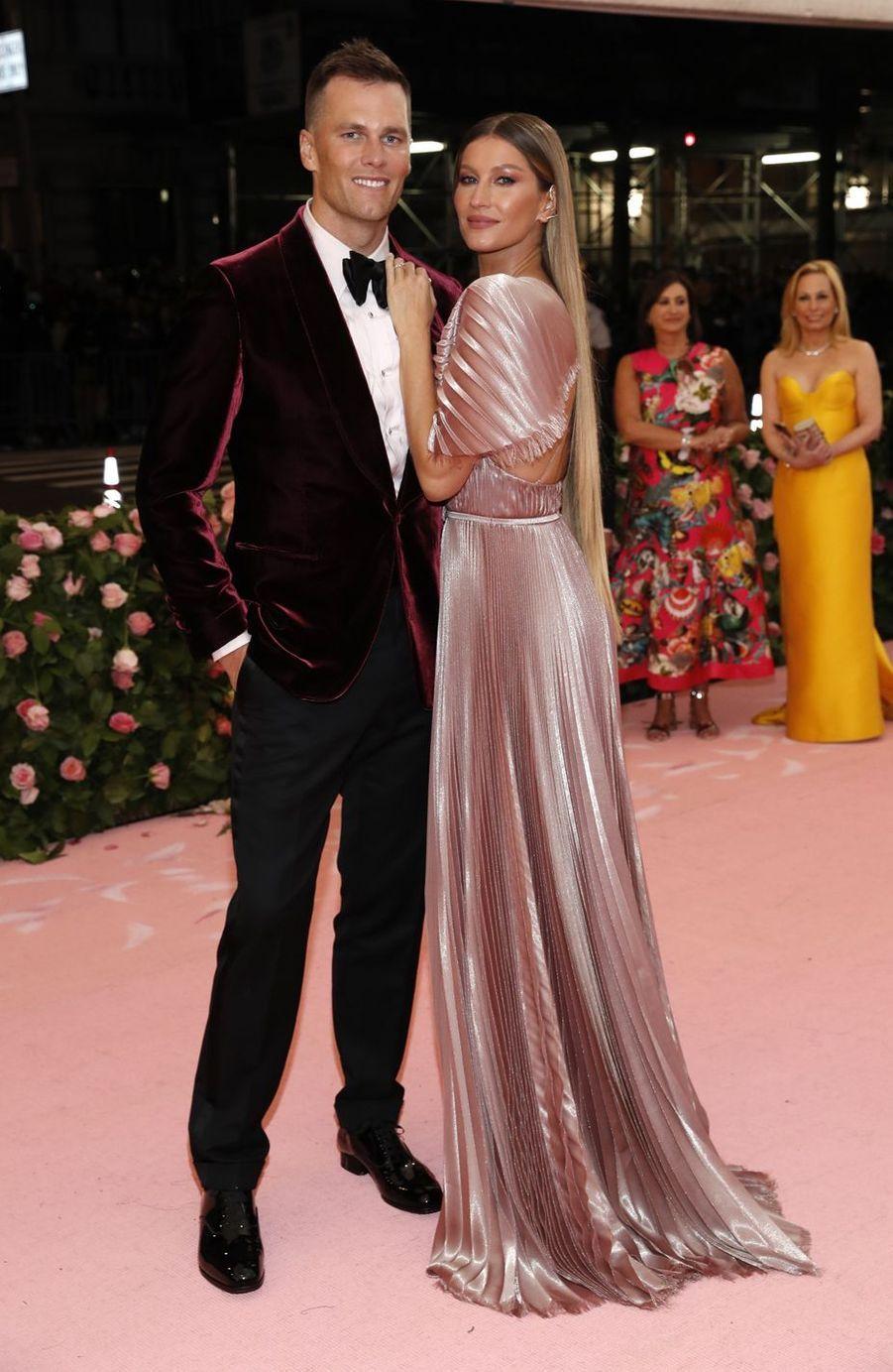 Tom Brady et Gisele Bündchenau MET Gala à New York le 6 mai 2019