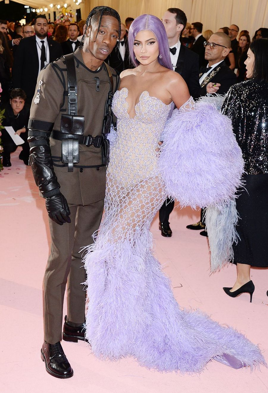 Travis Scott et Kylie Jennerau MET Gala à New York le 6 mai 2019