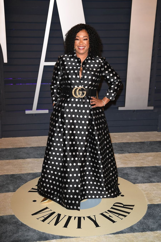 Shonda Rhimesà l'after-party des Oscars à Los Angeles le 24 février 2019