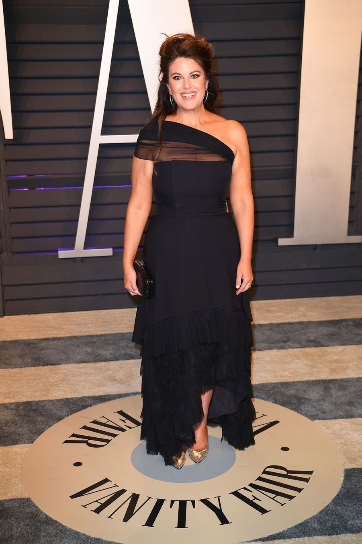 Monica Lewinskyà l'after-party des Oscars à Los Angeles le 24 février 2019