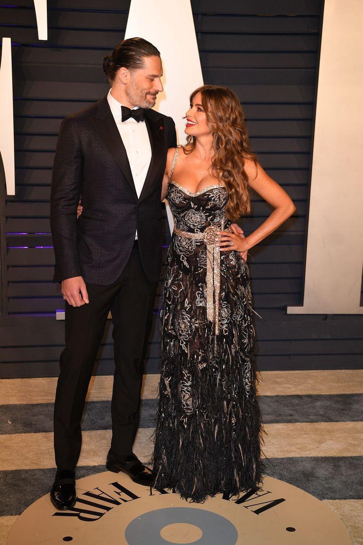 Joe Manganiello et Sofia Vergaraà l'after-party des Oscars à Los Angeles le 24 février 2019