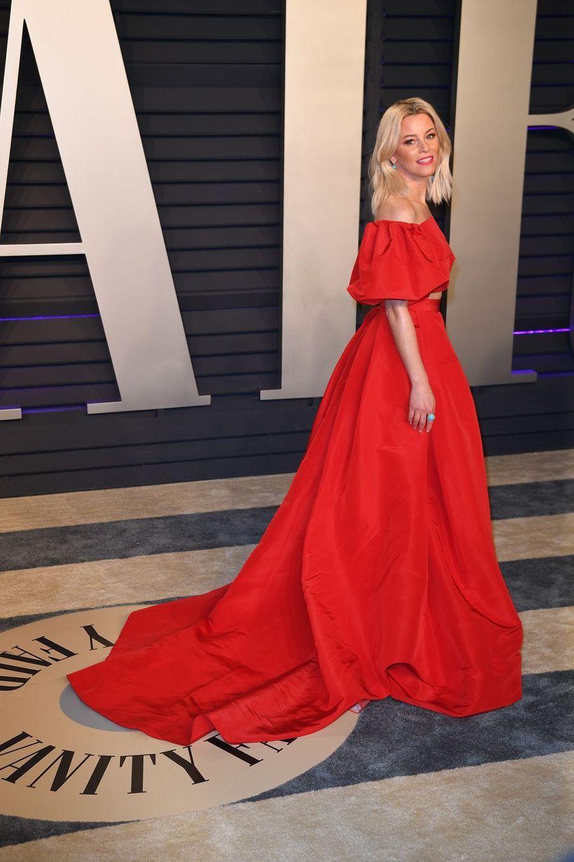 Elizabeth Banksà l'after-party des Oscars à Los Angeles le 24 février 2019