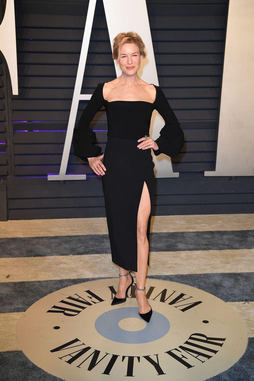 Renée Zellwegerà l'after-party des Oscars à Los Angeles le 24 février 2019