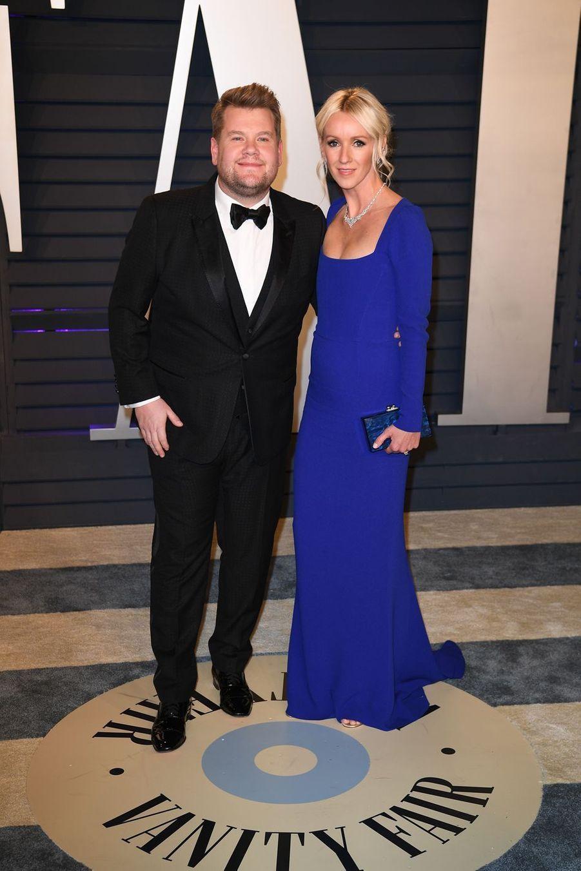 James Corden et Julia Careyà l'after-party des Oscars à Los Angeles le 24 février 2019