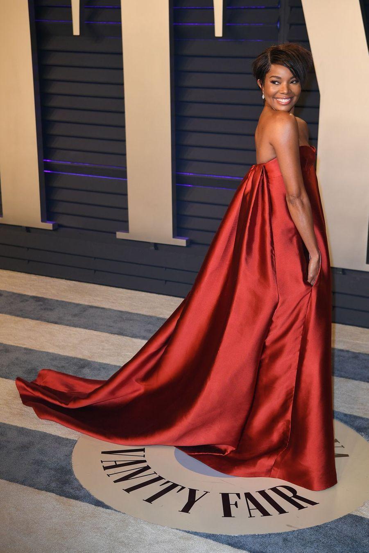 Gabrielle Unionà l'after-party des Oscars à Los Angeles le 24 février 2019