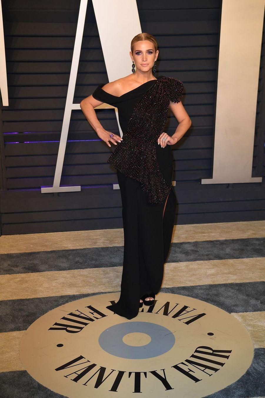 Ashlee Simpsonà l'after-party des Oscars à Los Angeles le 24 février 2019