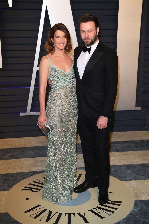 Cobie Smulders et Taran Killamà l'after-party des Oscars à Los Angeles le 24 février 2019