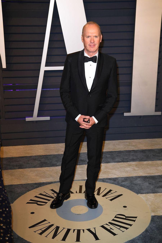 Michael Keatonà l'after-party des Oscars à Los Angeles le 24 février 2019